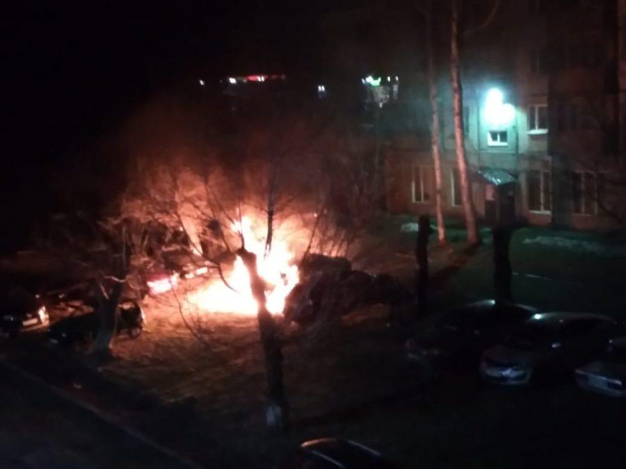 Врыв и зарево: что произошло ночью в Кемерове