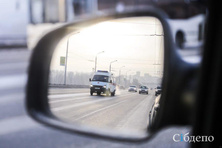 Поиск свидетелей: в Кемерове легковушка сбила девушку