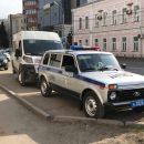 Вцентре Омска столкнулись маршрутка ииномарка